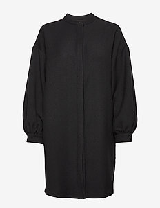 Viggo Dress ST - shirt dresses - black