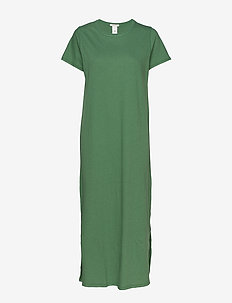 Juke Long Dress AWN - robes longeur du midi - myrtle green