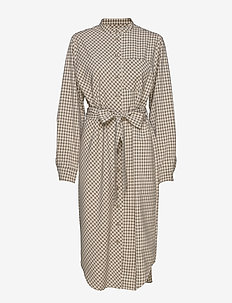 Carlos Dress AWN - shirt dresses - mellow yellow