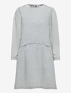 Hayden Dress - robes en jeans - vintage blue