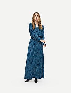 Keon Shirt STG - blouses à manches longues - blue iris