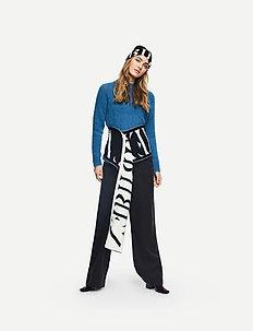 Nels Pant STG - pantalons larges - black