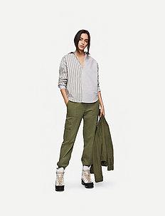 Camilo Pant AWN - pantalons casual - dark green