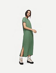 Juke Long Dress AWN - robes longeur du midi - myrtle green