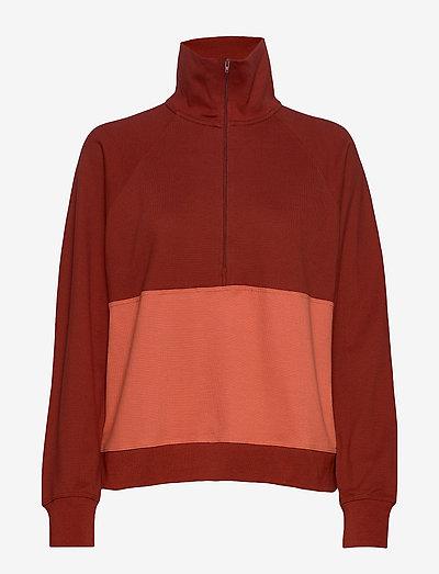 Bobby LS AN - sweatshirts en hoodies - red ochre