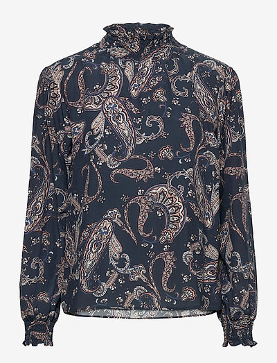 Ambrose Top WP - long sleeved blouses - outer space