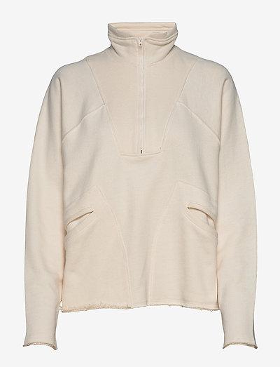 Ren Halfzip AN - sweatshirts en hoodies - off white