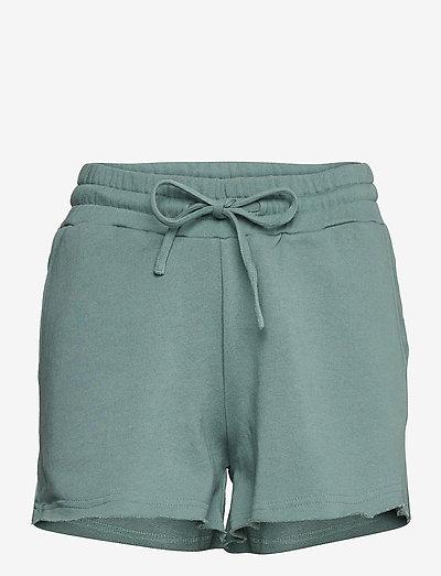Stone Shorts - casual shorts - seaweed green