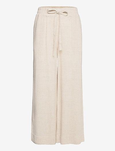 Vincente Pant - wide leg trousers - moonlight