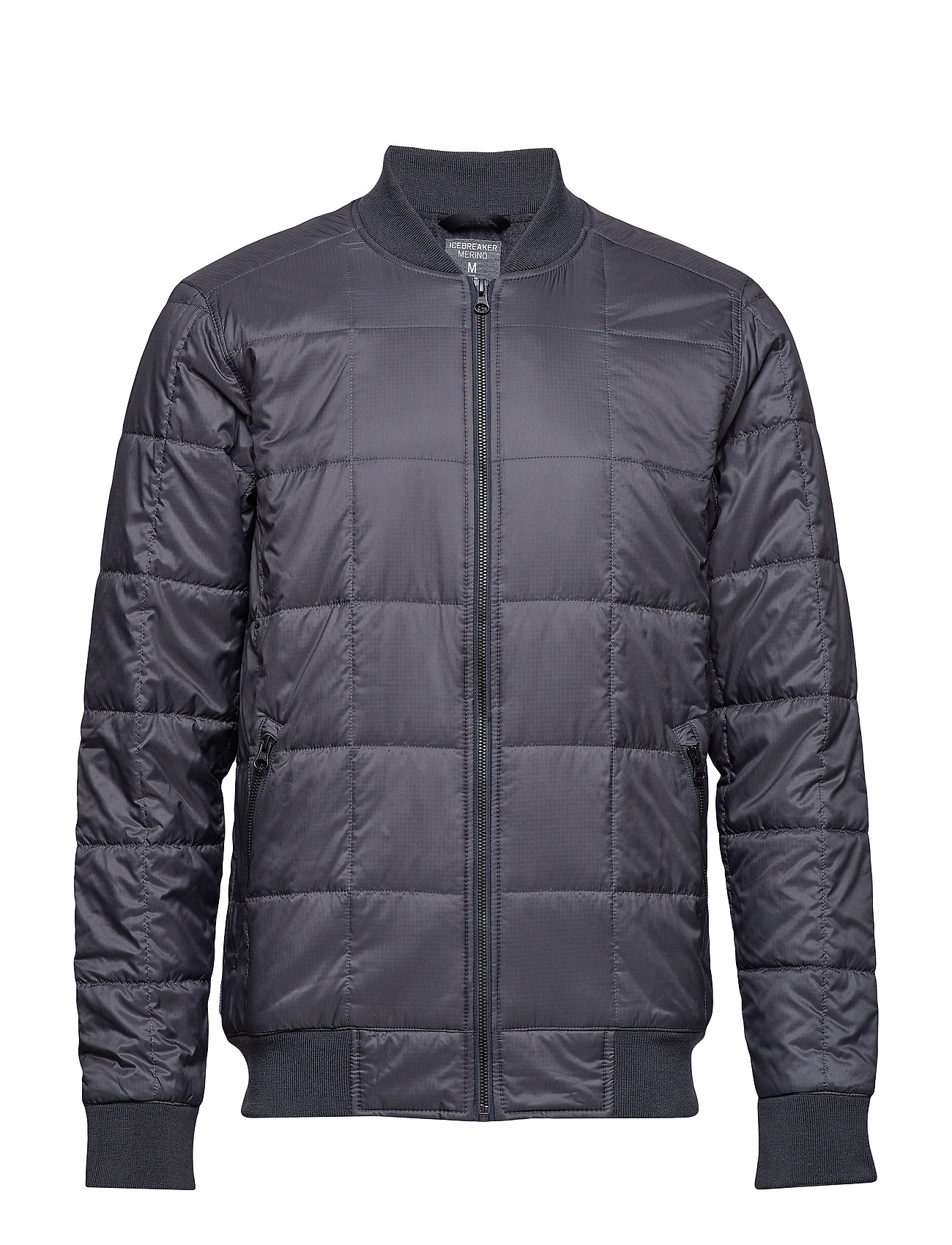 Icebreaker Mens Venturous Jacket - MONSOON/JET HTHR