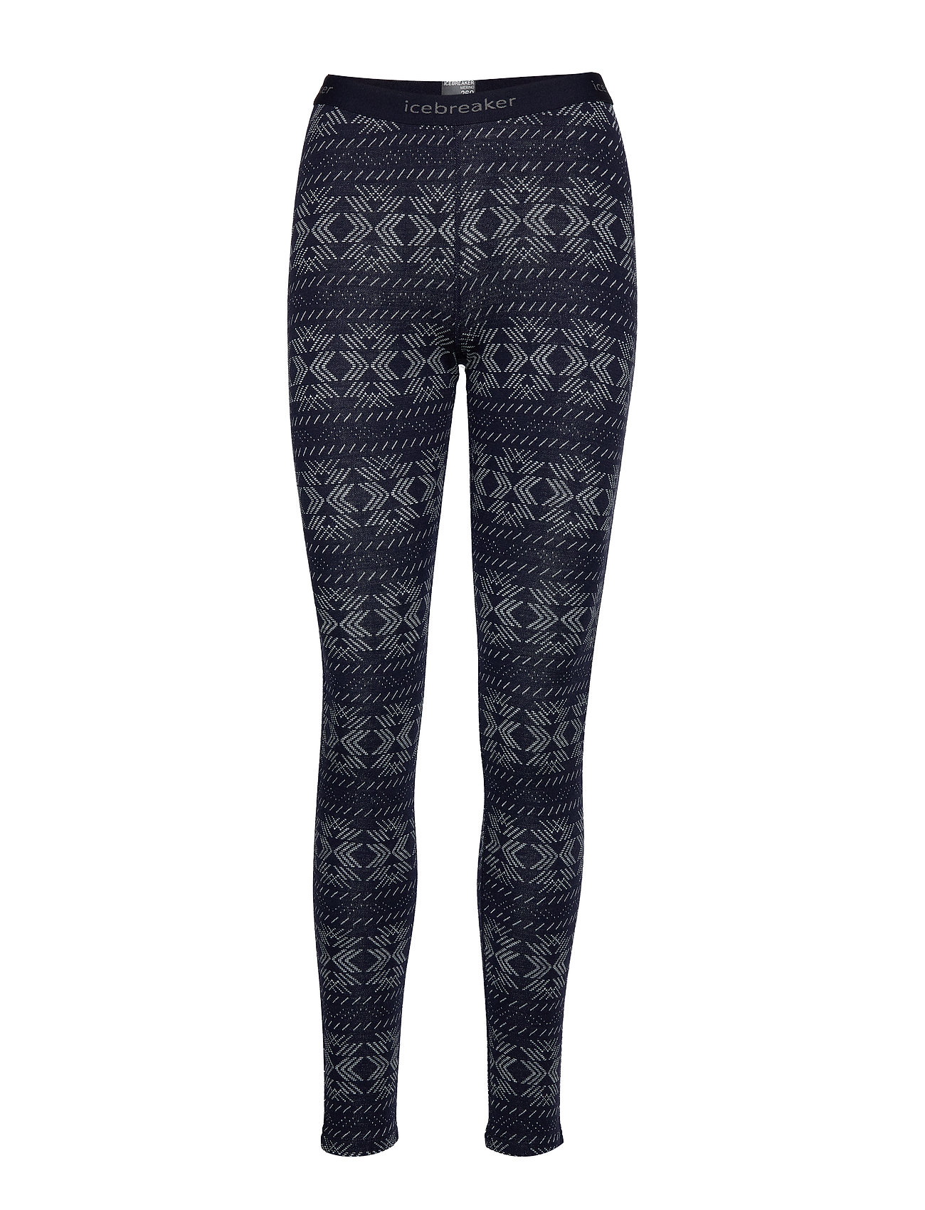 Icebreaker Wmns 250 Vertex Leggings Crystalline - MIDNIGHT NAVY