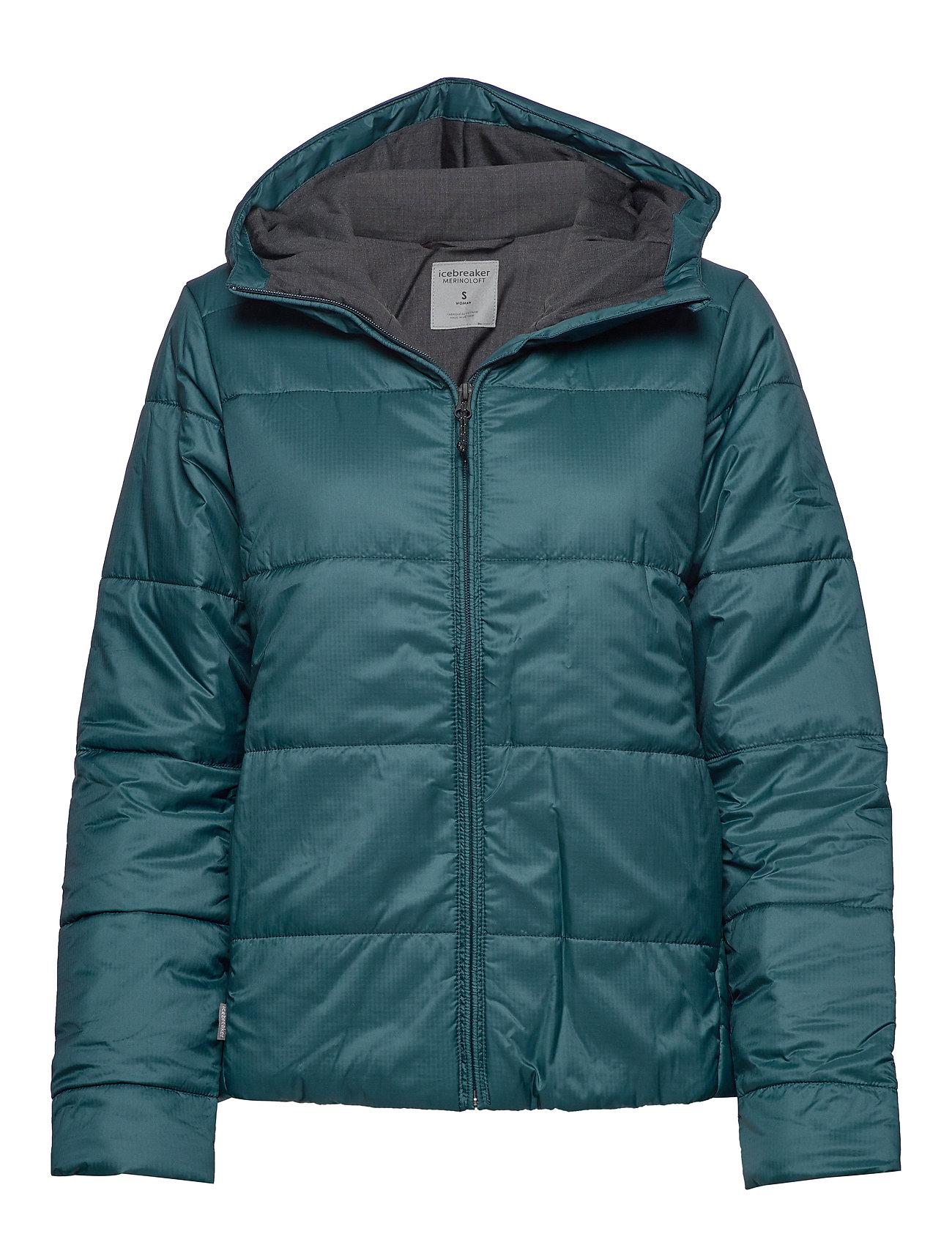 Icebreaker Wmns Collingwood Hooded Jacket - NIGHTFALL