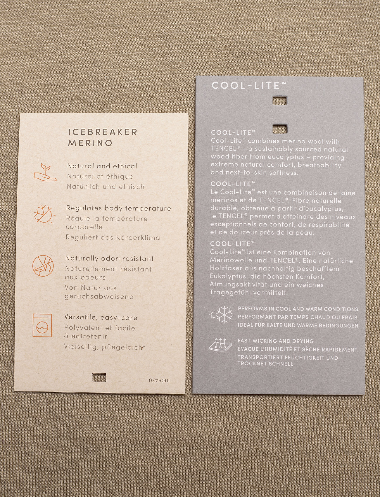 Mens Nature Dye Drayden Ss Pocket Crewe (Almond) (434.85 kr) - Icebreaker 7ChnGAcu