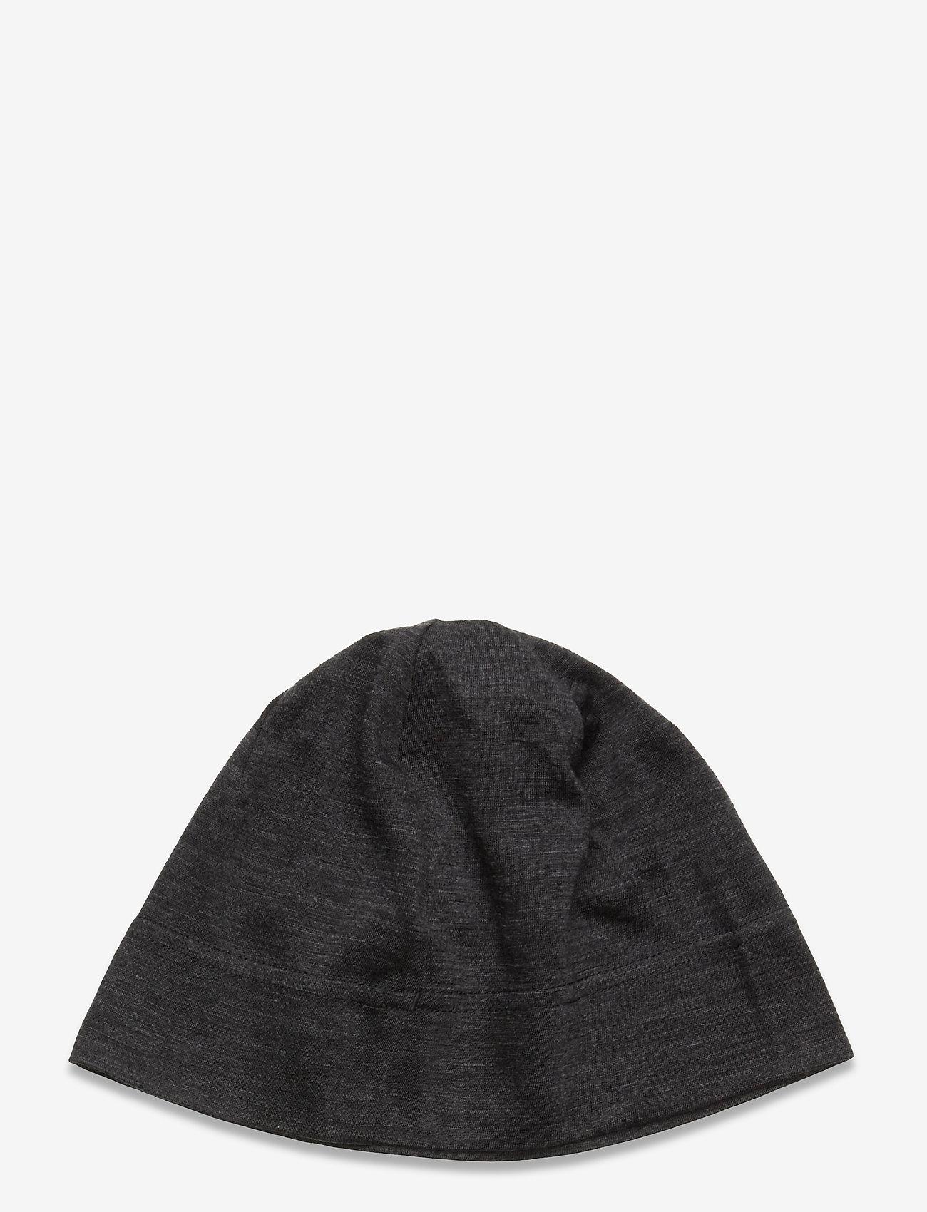 Icebreaker - U Flexi Beanie - bonnet - black hthr - 1