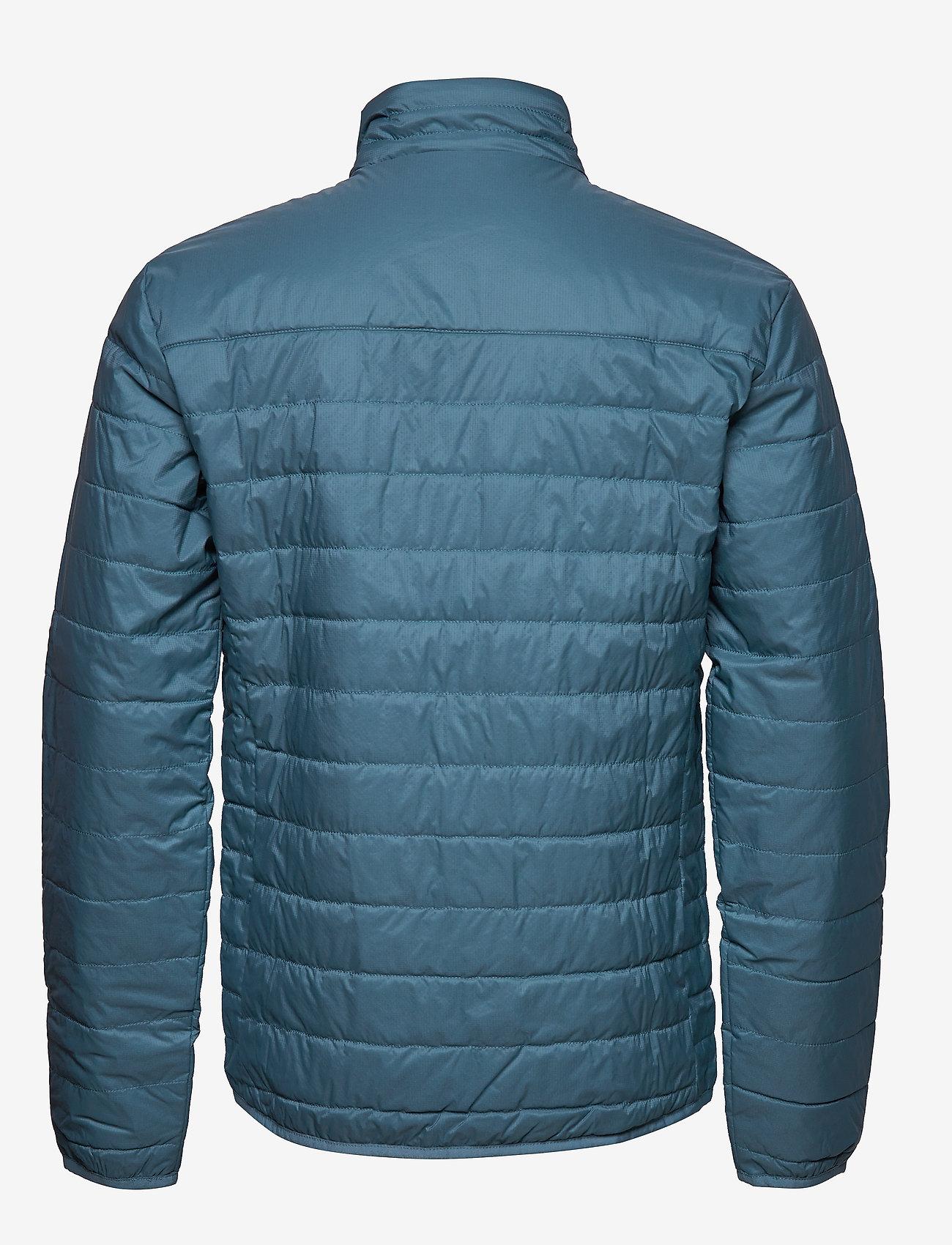 Icebreaker - Mens Hyperia Lite Jacket - frilufts- og regnjakker - granite blue/prussian blue - 1