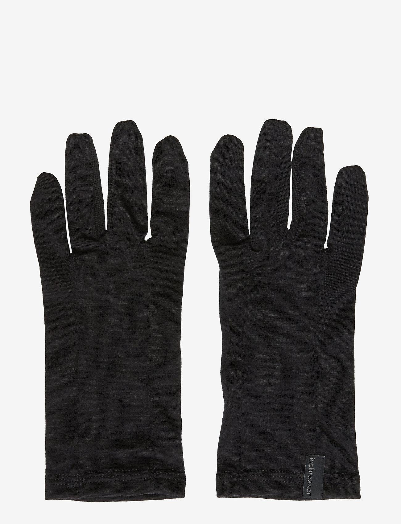 Icebreaker - U 200 Oasis Glove Liner - accessories - black - 0
