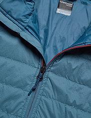 Icebreaker - Mens Hyperia Lite Jacket - frilufts- og regnjakker - granite blue/prussian blue - 2