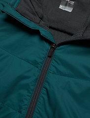 Icebreaker - Mens Descender Hybrid LS Half Zip Hood - insulated pants - poseidon/monsoon - 2