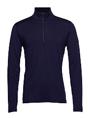 Mens 200 Oasis LS Half Zip - MIDNIGHT NAVY