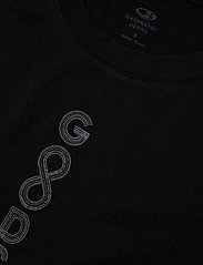 Icebreaker - Wmns Tech Lite SS Scoop Solo - t-shirts med tryck - black - 2
