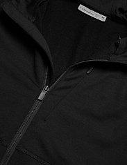 Icebreaker - M Quantum II LS Zip Hood - fleece - black - 4