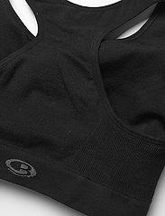 Icebreaker - W Anatomica Seamless Sport Bra - sportbeh''s: low - black - 3