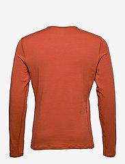 Icebreaker - Mens 200 Oasis LS Crewe - thermo ondershirts - roote - 1
