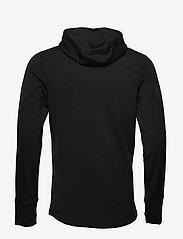 Icebreaker - M Quantum II LS Zip Hood - fleece - black - 1