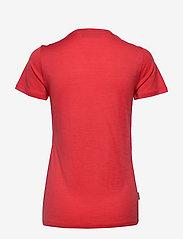 Icebreaker - Wmns Tech Lite SS Scoop Leaf - t-shirts - fire - 1