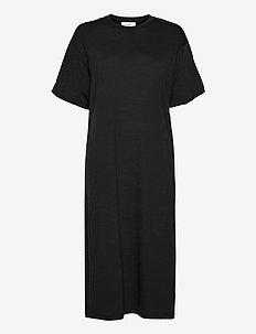 W Cool-Lite Dress - vardagsklänningar - ebony