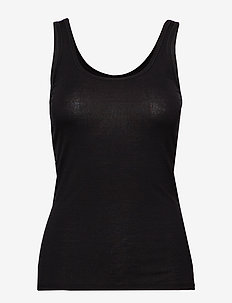 W Siren Tank - thermo ondershirts - black