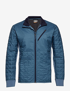 Mens Helix LS Zip - GRANITE BLUE/MIDNIGHT NAVY