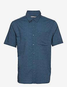 Mens Compass SS Shirt - THUNDER/TIMBERWOLF/DOBBY