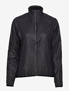 Wmns Rush Windbreaker - uldjakker - black/embossed