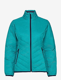 Wmns Hyperia Lite Jacket - wandel- en regenjassen - arctic teal