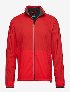Mens Incline Windbreaker - kurtki turystyczne - chili red/monsoon