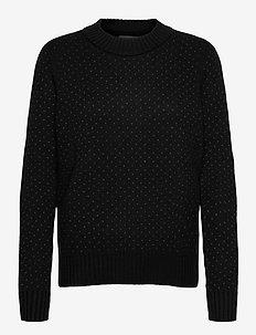 Wmns Waypoint Crewe Sweater - gensere - black