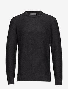Mens Waypoint Crewe Sweater - CHAR HTHR