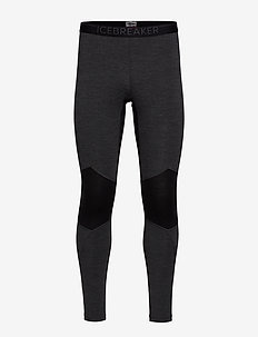 Mens 260 Zone Leggings - JET HTHR/BLACK