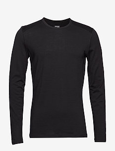 Mens 200 Oasis LS Crewe - BLACK