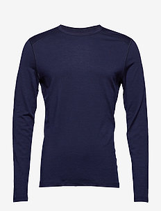 Mens 200 Oasis LS Crewe - MIDNIGHT NAVY