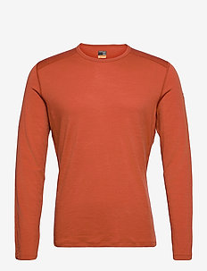 Mens 200 Oasis LS Crewe - base layer tops - roote