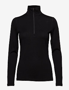 Wmns 260 Tech LS Half Zip - BLACK