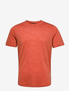 Mens Sphere SS Crewe - t-shirts - roote hthr