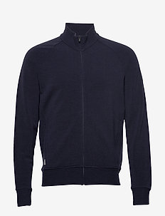 Mens Lydmar LS Zip - basic sweatshirts - midnight navy