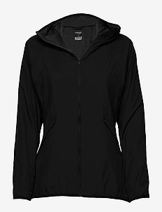 Wmns Coriolis II Hooded Windbreaker - wolljacken - black/monsoon