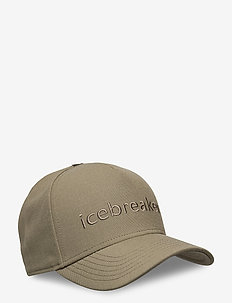 U Icebreaker Logo Hat - kepsar - flint