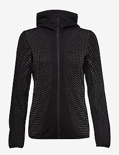 Wmns Elemental LS Zip Hood - BLACK