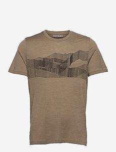 M Tech Lite SS Crewe St Anton - t-shirts - flint