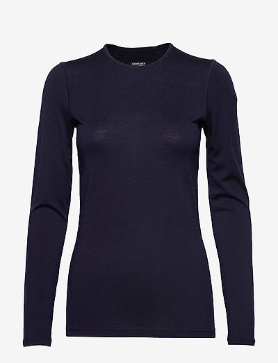 W 200 Oasis LS Crewe - base layer tops - midnight navy